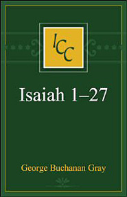 A Critical and Exegetical Commentary on Isaiah 1–27