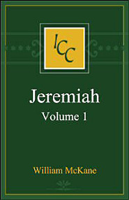 A Critical and Exegetical Commentary on Jeremiah, Volume 1