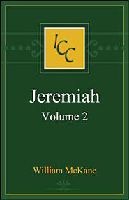 A Critical and Exegetical Commentary on Jeremiah, Volume 2