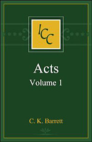 A Critical and Exegetical Commentary on the Acts of the Apostles, Volume 1