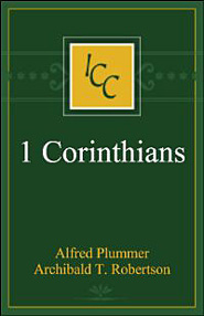 A Critical and Exegetical Commentary on the First Epistle of St Paul to the Corinthians