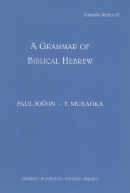 A Grammar of Biblical Hebrew, rev. ed.