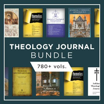 Theology Journal Bundle (780+ vols.)