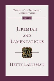 Jeremiah and Lamentations: An Introduction and Commentary