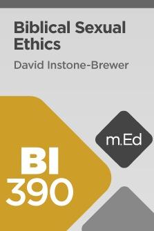 Biblical Sexual Ethics