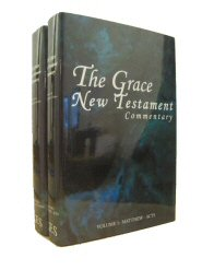 The Grace New Testament Commentary (2 vols.)