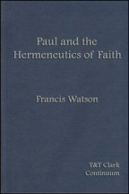 Paul and the Hermeneutics of Faith