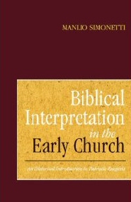 Biblical Interpretation in the Early Church: An Historical Introduction to Patristic Exegesis