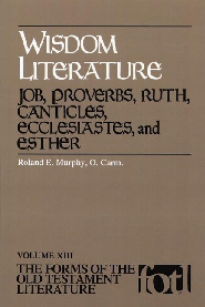 an overview of the wisdom literature in the bible They fall into the category of ancient near east wisdom literature, a genre of writing that focuses on existential questions about god, humanity, creation, and the nature of evil and suffering wisdom literature could take the form of short, memorable insights (as in the book of proverbs) or a dialogue (as in the.